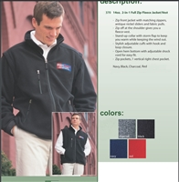 Polartec 2 in 1 Fleece Jacket | Vest