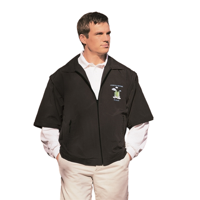 Pinehurst 3 in 1 Microfibre Golf Jacket | EZ DECO Embroidery System
