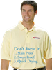 Triton Polo 6oz. 100% Cotton jersey Golf Shirt. | Stainproof
