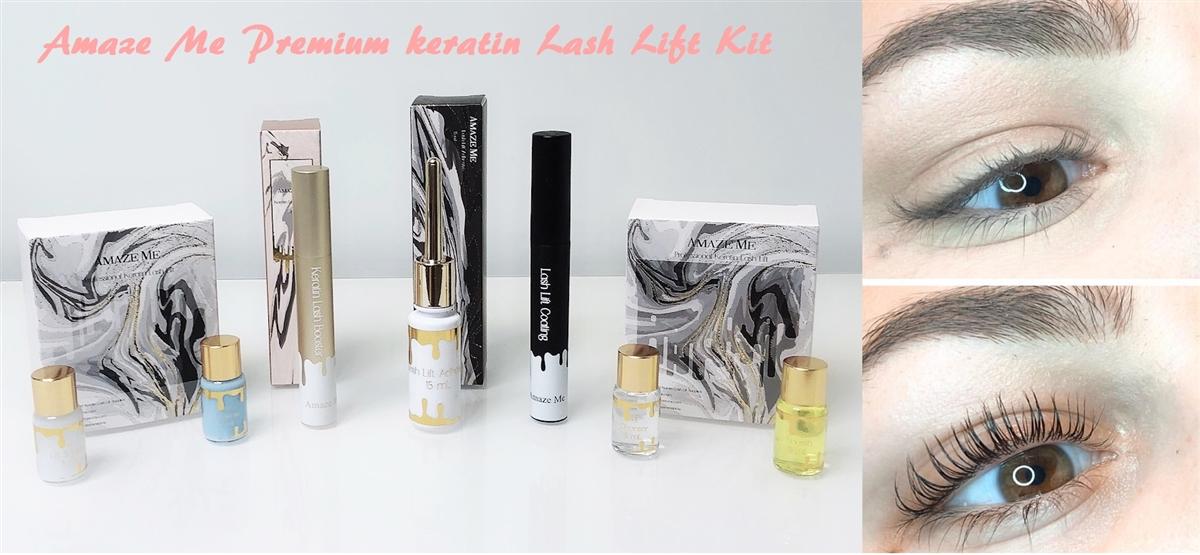69930310182 Amaze Me Premium Keratin Lash Lift Kit (Provide with Full Demo Video)