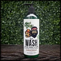 Cheech & Chong 3-IN-1 Beard, Body, Hair Wash