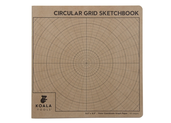 Circular Grid (Polar Coordinate) Sketchbook