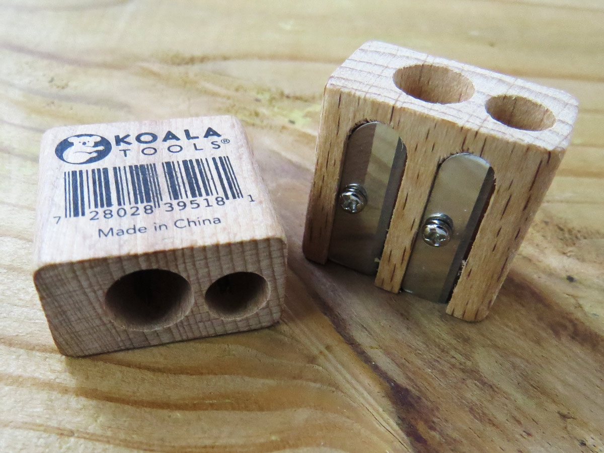Double Barrel Wood Sharpener