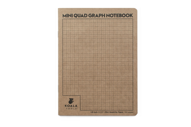 Mini Quad Grid Sketchbook