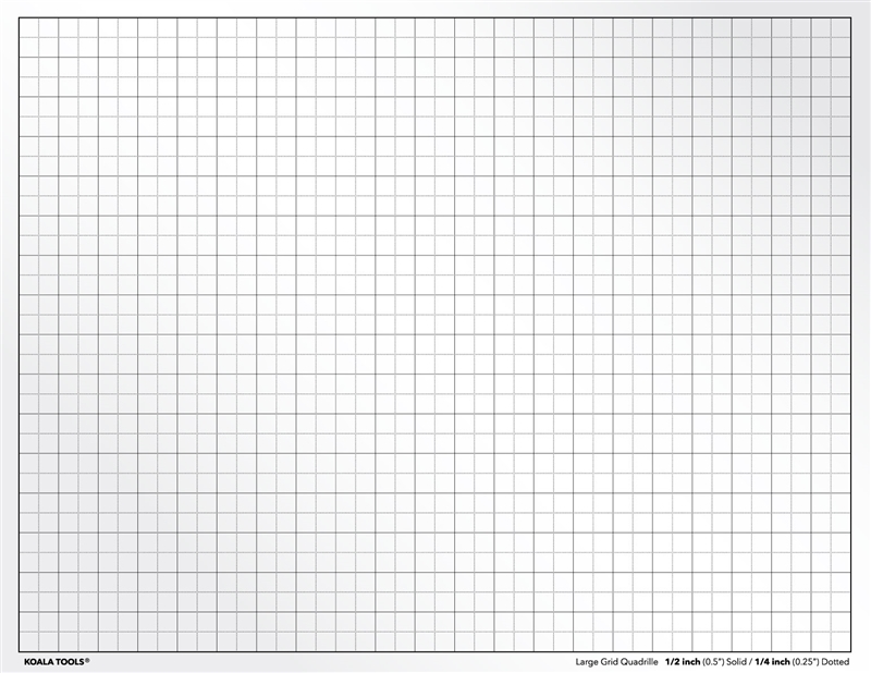 Quadrille Grid Transparency Sheet