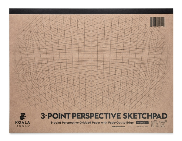 3-point Perspective Sketchpad