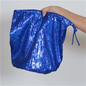 B315B-RY - Sequin Money Bag (Royal)