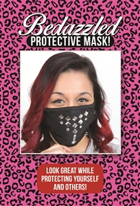 M204 - Diamond Studded Mask (Packaged)