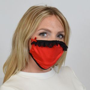 M237 - Vixon Lace Trimmed Mask