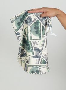 MNY108 - Money Print XXL Money Bag