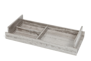 Empty-Your-Pockets Trays in grey wood