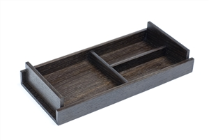 Coin Trays in wood fit all your essential belongings