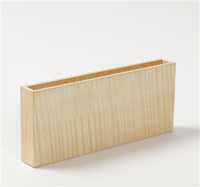 Wood Pen Box in Figured Sycamore