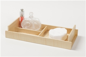 Figured Sycamore Exclusive Creations Mini Tray