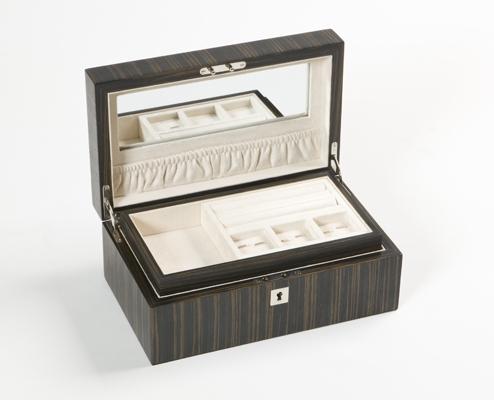Jewelry BoxesContemporary Jewellery BoxesDark Ebony iWOODESIGN