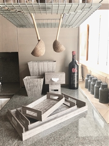 Luxury Kitchen Accessories in Sterling Grey