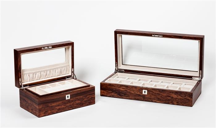 Jewellery BoxesLuxury Jewelry BoxesSantos Rosewood iWOODESIGN