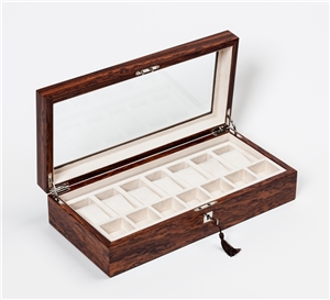 Expensive Watch Box in stunning Royal Santos Rosewood
