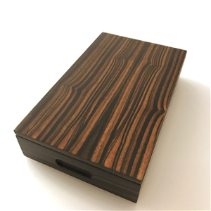 Luxury Jewellery boxes in exceptional Royal Ebony Macassar