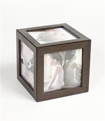 Large Photo Cube - Unique magnetic frame for ease - Gift boxed