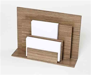 Letter Holders - Place your papers in an orderly and accessible way with this stylish paper holder.