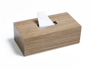 Rectangle tissue boxes for every room.