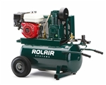 ROL-AIR 4090HK17/20 5.5 HP Wheeled Gas Air Compressor