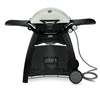 Weber Q 3200 Portable LP Barbecue with Stand - Titanium