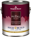REGAL Select Exterior Paint- High Build