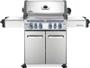 Napoleon Prestige 500 NG Barbecue W/Infrared Side and Rear Burners - Stainless Steel