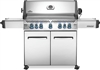 Napoleon Prestige 665 NG Barbecue W/Infrared Side and Rear Burners - Stainless Steel