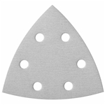 Bosch 3-1/2 In. 40 Grit 5 pc. White Detail Sander Abrasive Triangles for Paint