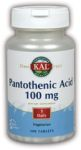 Nutraceutical Corporation- Pantothenic Acid 100mg (100)