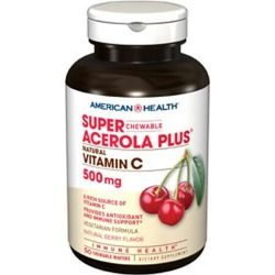 AMERICAN HEALTH - ACER.PLUS 500MG SPR
