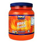 NOW - Whey Protein Natural Unflavored, Organic - 1 lb.
