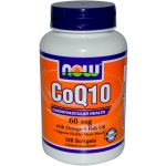 NOW - CoQ10 60 mg w/Omega 3 Fish Oils - 120 Gels
