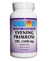 Sundrops- Eve Primrose 1300 mg CAPSULES 120 S