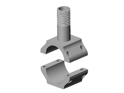 Clamp on Antenna Bracket