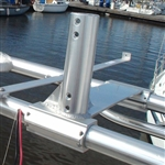 Clamp on Wind Generator Base