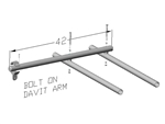 Extension Davits