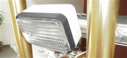 Halogen Deck Flood Lamp with Mounting Hardware
