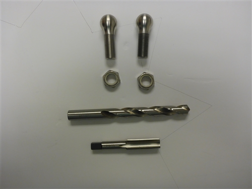 "Ball Replacement Kit for older St Croix Davits with 1""-13 Ball"
