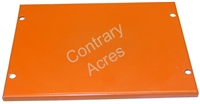Allis Chalmers: B CA G WD WD45 Gas D10 D12 Battery Box Lid