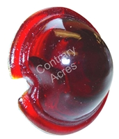 Minneapolis Moline : Jet Star  5 Star 445 Big Mo 400 335 Red Glass Tail Light Lens