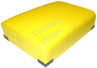 BOTTOM SEAT CUSHION - YELLOW RESTORATION QUALITY