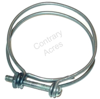WIRE HOSE CLAMP - 2 1/2 INCH
