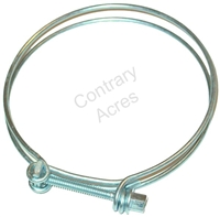 WIRE HOSE CLAMP (UPPER / LOWER RADIATOR HOSE) 4 INCH