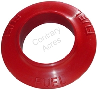 RED RUBBER RING GROMMET