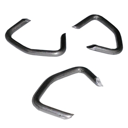 Bent Hog Rings