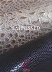 Embossed Leather